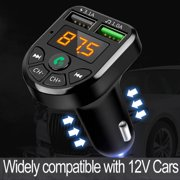 Wireless Bluetooth FM Transmitter Radio Adapter Car MP3 Player Handsfreer 2 USB Charger
