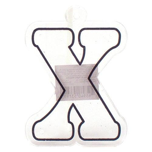 Suncatcher Letter, X
