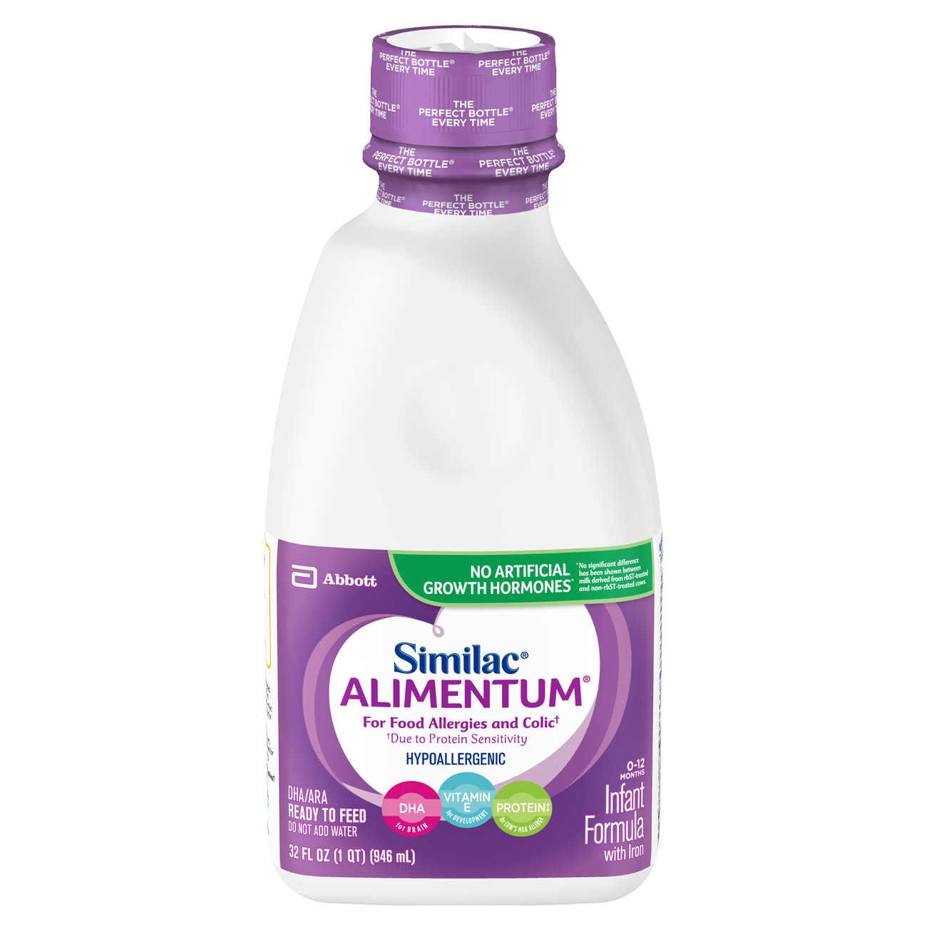 Similac Alimentum Hypoallergenic Infant Formula for Food Allergies ...