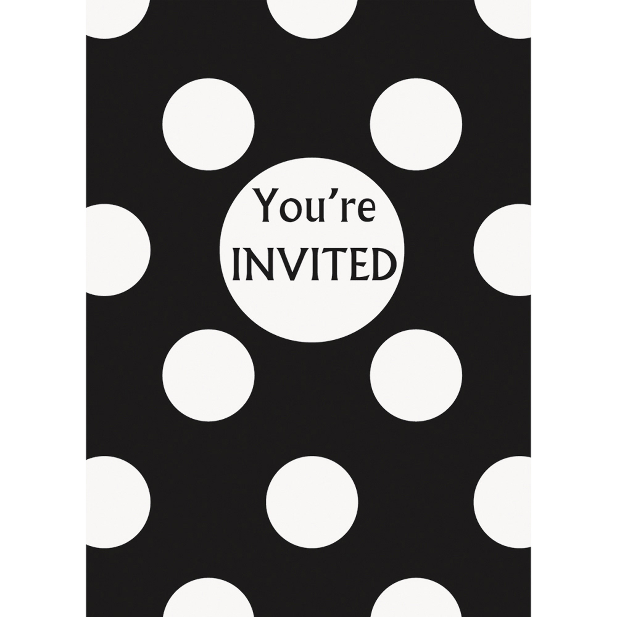 Party Invitations, 8-Pack