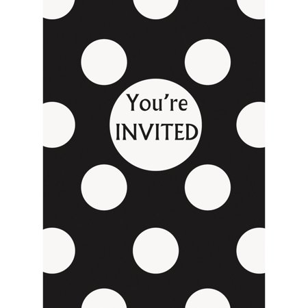 Party Invitations 8Pack Walmart – Packs of Party Invitations