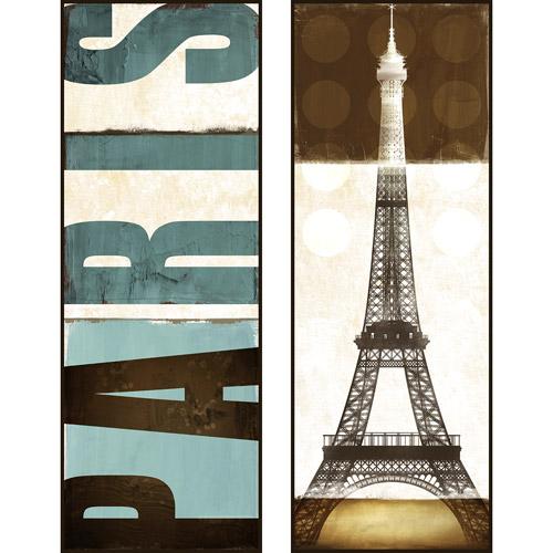 Pro Tour Memorabilia Paris Eiffel Plaque, 2-Pack by Pro Tour Memorabilia