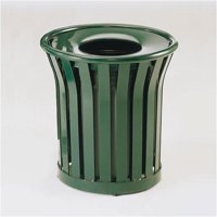Rubbermaid Commercial Products Americana Receptacle 24 Gallon Trash Can by Rubbermaid