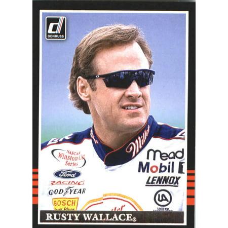 2018 Donruss #105 Rusty Wallace Racing Retro 1985 Card ()