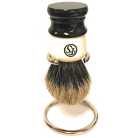 Quality Badger Shaving Brush- FS Stripey- Knot Size 24mm - Comes with Free