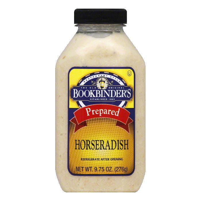 Bookbinders Prepared Horseradish, 9.75 OZ (Pack of 9) by