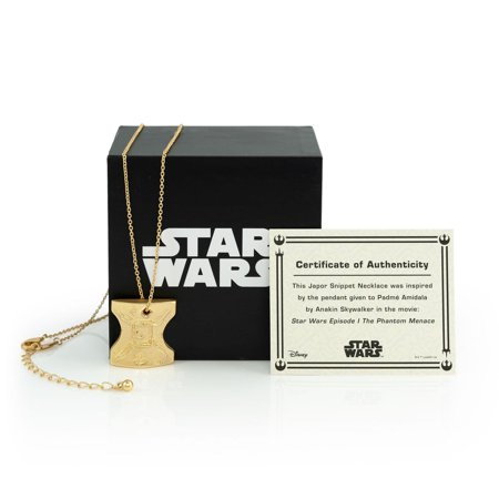 Star Wars Japor Snippet Necklace | Collectible Star Wars Jewelry Pendant ()