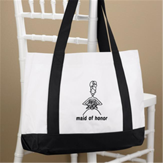 Hortense B Hewitt 20650 Maid of Honor White Canvas Tote Bag