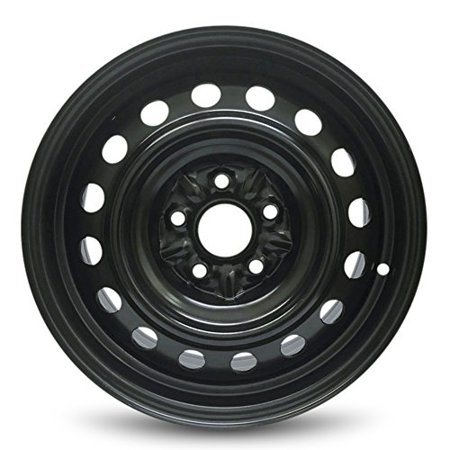 New 16x6.5 Toyota Camry (07-11) 5 Lug Steel Wheel Black Full Size Replacement Steel (New 10 Black Rim)