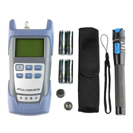 Fiber Optic FTTH Tool Kit with FC-6S Fiber Cleaver Optical Power Meter 5km (Best Power Meter For Optic Fibers)