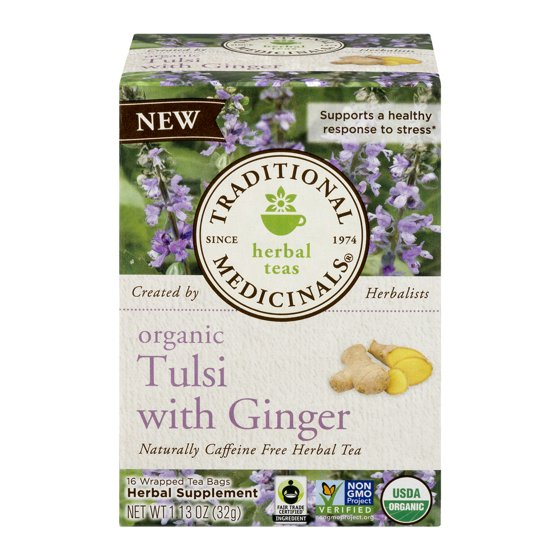 TRADITIONAL MEDICINAL TULSI WITH GINGER - Walmart com