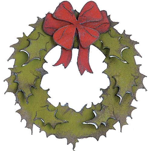 "Sizzix Bigz Die By Tim Holtz 5.5""X6""-Holiday Wreath"