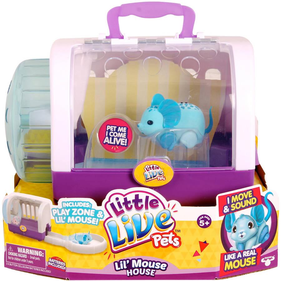 Moose Toys Little Live Pets S2 Lil' Mouse House, Jungle Wonder