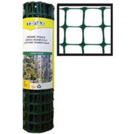 Fence Home 2Ft 25Ft Rl Plstc TENAX CORP Plastic / Utility Fencing 783060 Green