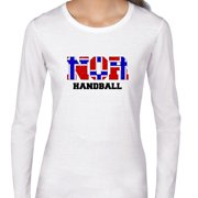 Norway Handball - Olympic Games - Rio - Flag Women's Long Sleeve T-Shirt