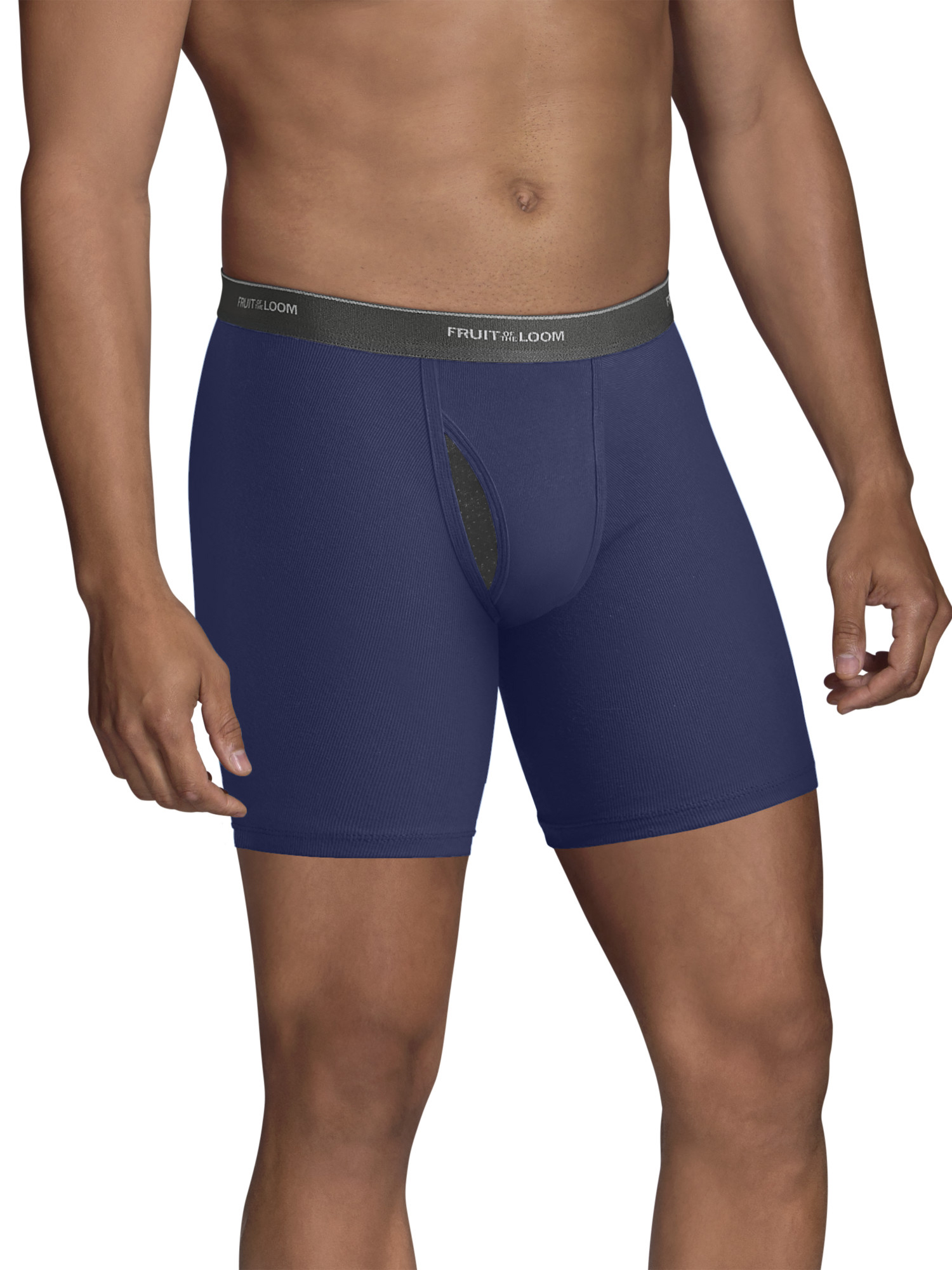 Men's CoolZone Fly Dual Defense Argyle and Solid Boxer Briefs, 5 Pack