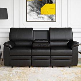 Magnificent Ufe Evelyn Leather Gel Reclining Loveseat Dark Brown Spiritservingveterans Wood Chair Design Ideas Spiritservingveteransorg