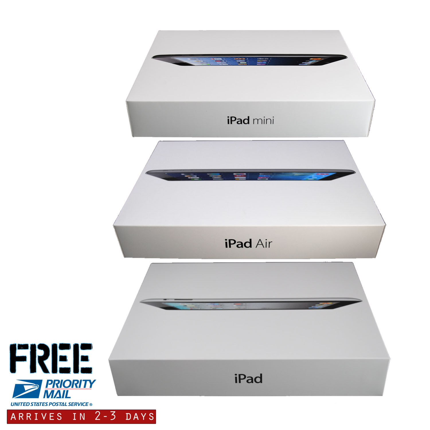 Refurbished Apple iPad Air 1 16GB,32GB,64gb,128gb - Wifi with 1-Year Warranty | Bundle includes Case