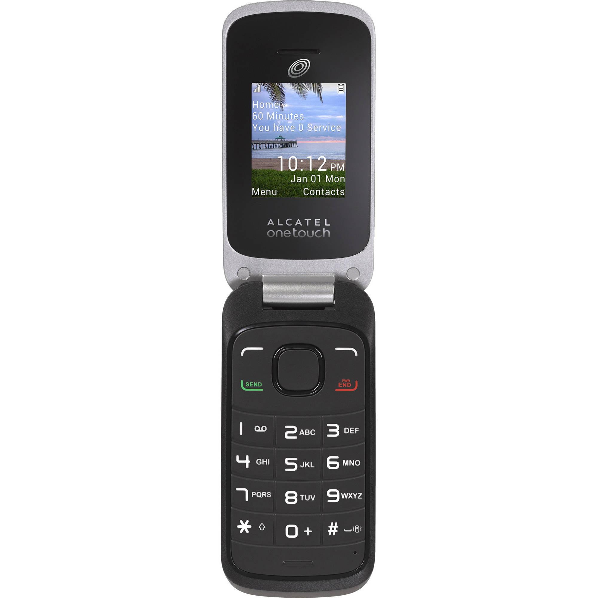 net10 prepaid alcatel a206g prepaid cell phone   walmart