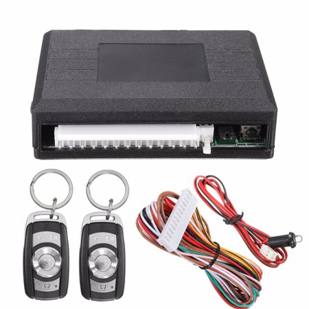 Universal Car Remote Control Central Kit Door Lock Locking Keyless Entry (Difference Between Keyless And Remote Central Locking)