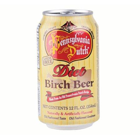 Pennsylvania Dutch Diet Birch Beer 12 Oz   24 Cans
