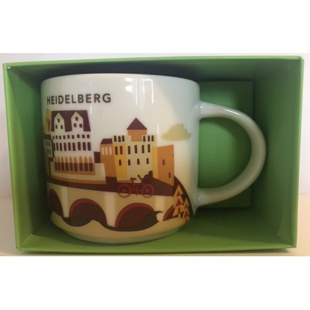Starbucks You Are Here Collection Germany Heidelberg Ceramic Coffee Mug New Box