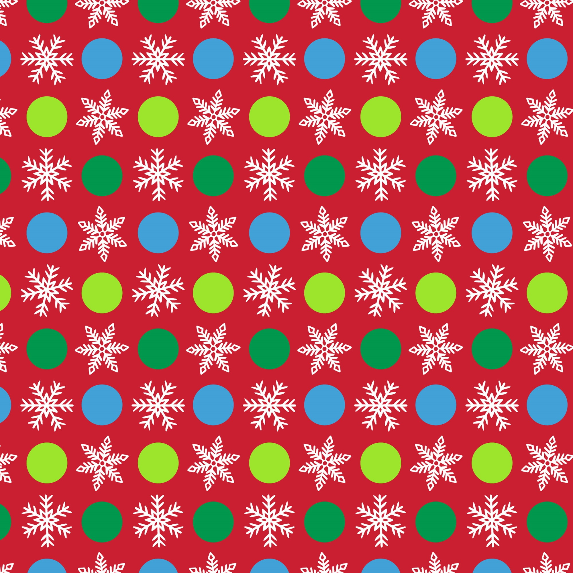 David Textiles Cotton Snowflake on Red Flannel Fabric, per Yard