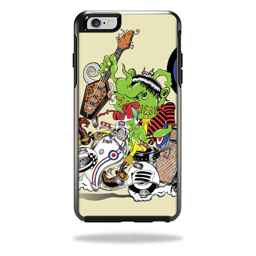 MightySkins Protective Vinyl Skin Decal for OtterBox Symmetry iPhone 6/6S Plus wrap cover sticker skins Scooter Punk