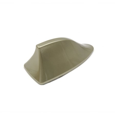 Gold Tone Plastic Shark Fin Style Car Vehicle AM/FM Radio Signal Antenna Aerial - image 1 of 3