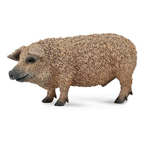 Collect A Farm Life Hungarian Pig Toy Figure