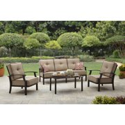 Better Homes and Garden Carter Hills Outdoor Conversation Set, Seats 5