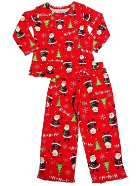 Product Image Sara s Prints - Little Girls Long Sleeve Pajamas 0af5c12dc
