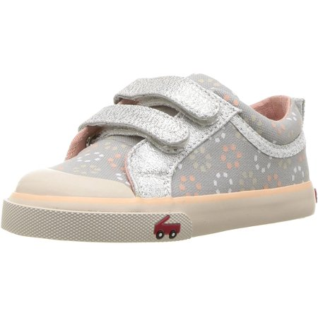 See Kai Run Girls' Robyne Sneaker, Gray/Silver Mix, 13.5 M US Little Kid - image 1 of 1