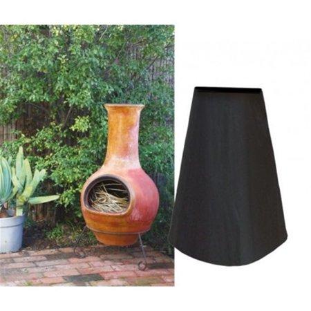 Garden Outdoor Waterproof UV Chimenea Shape Protector Quality Cover,Black  - image 7 of 7