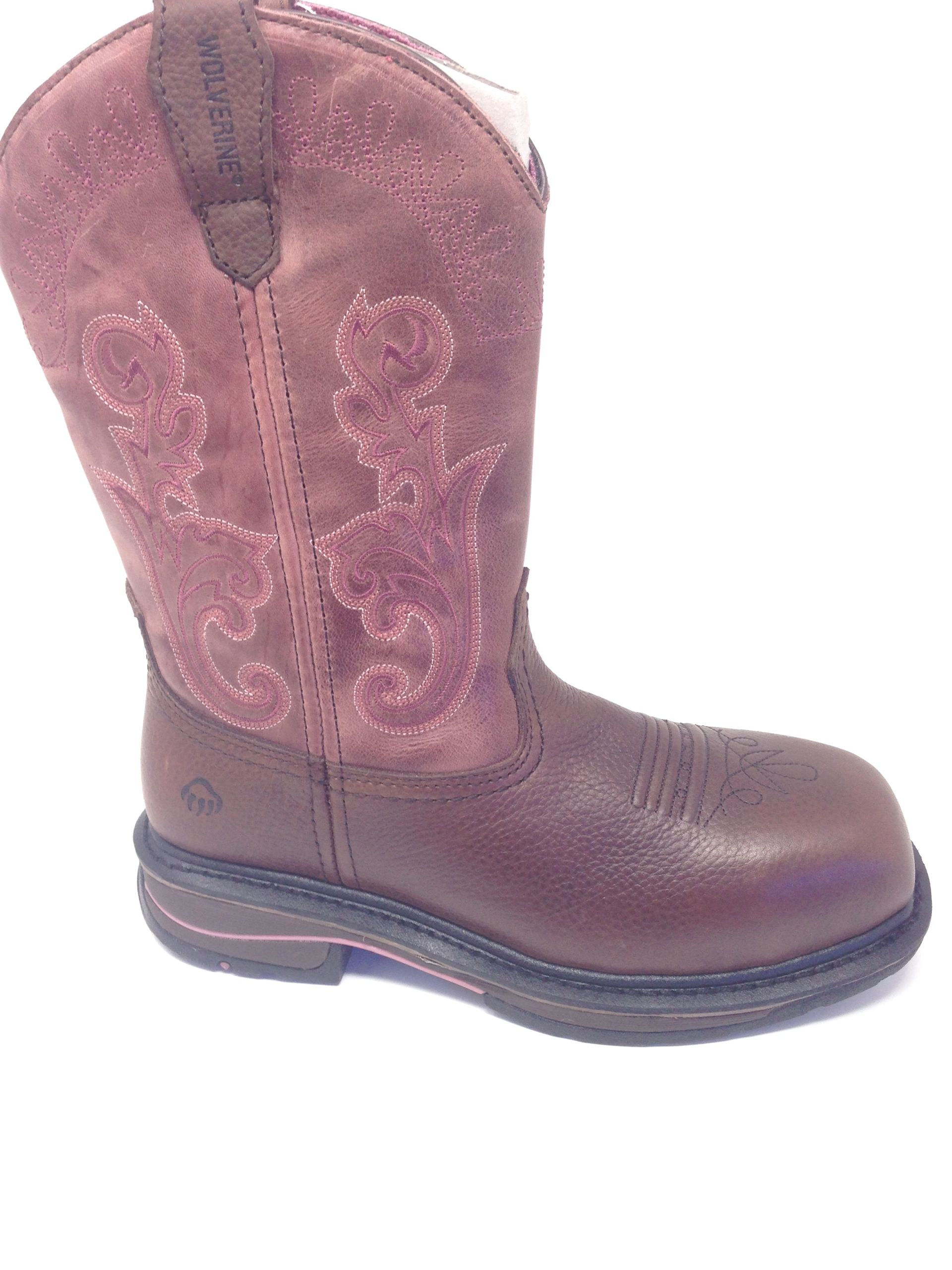 Wolverine Kacey Women's Boots 10 Inch Composite Toe Wellington W10527 by