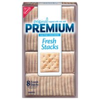 Premium Original Fresh Stacks Saltine Crackers, 13.6 oz