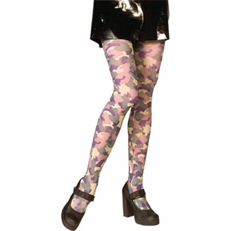 Adult Camouflage Costume Tights - Tights Costume