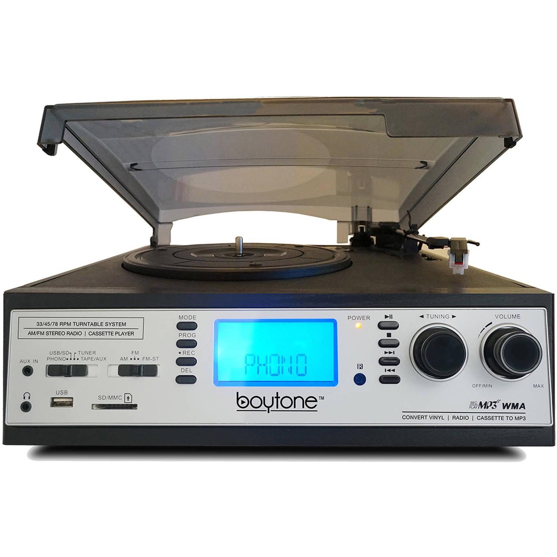Boytone BT-19DJS-C Multi-RPM Turntable by Boytone
