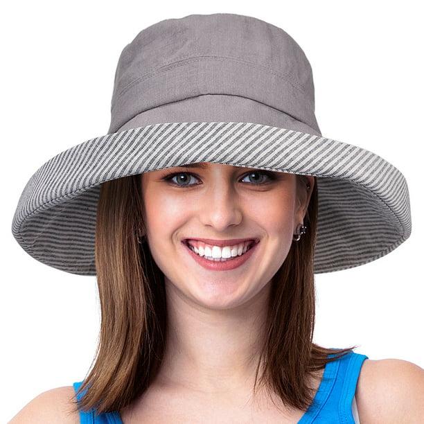 Solaris - Womens Bucket Hat UV Sun Protection Packable Summer Travel Beach  Cap - Walmart.com - Walmart.com