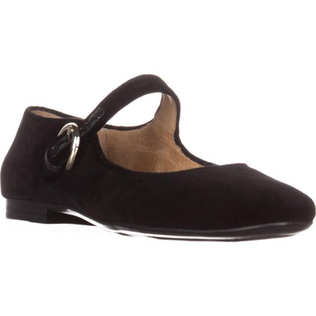 - Womens naturalizer Erica Mary Jane Flats, Black Velvet