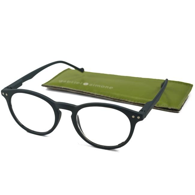 Gabriel + Simone  Womens Aubrie Oval Reading Glasses