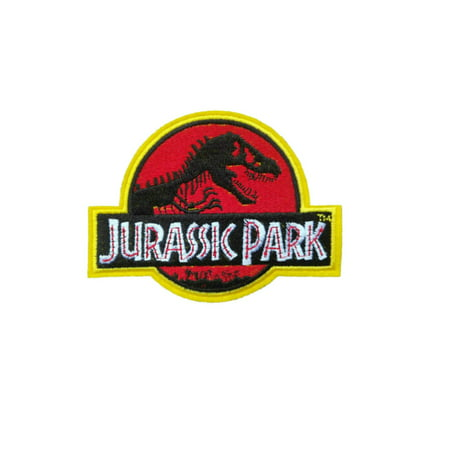 Superheroes Jurassic Park Movie Embroidered Iron/Sew-on Applique Patches