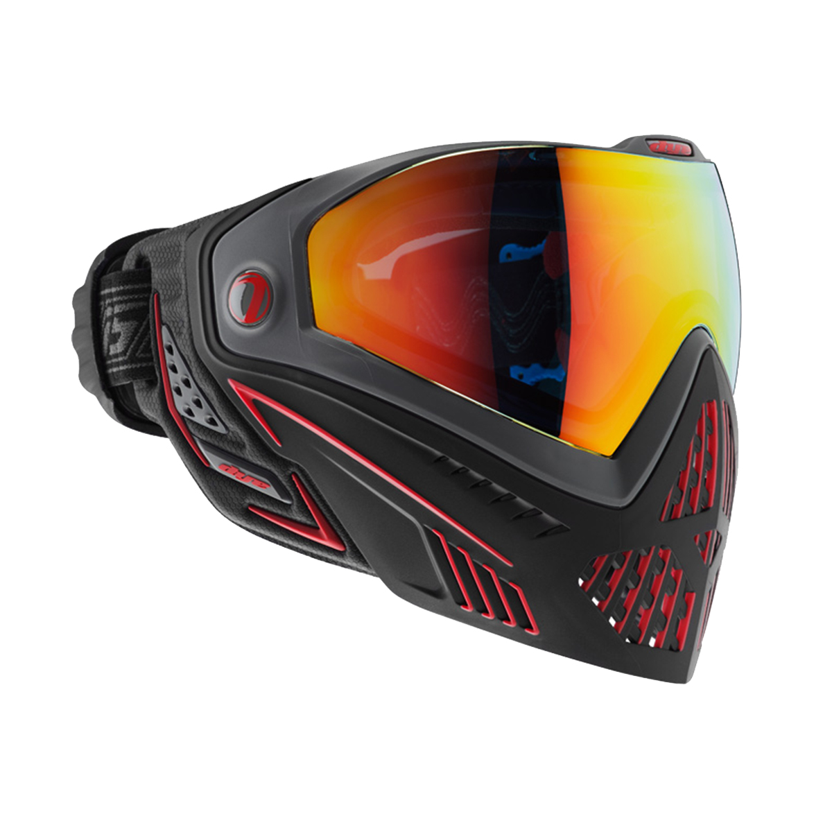 Dye i5 Paintball Goggles w/ Thermal Lens - Fire