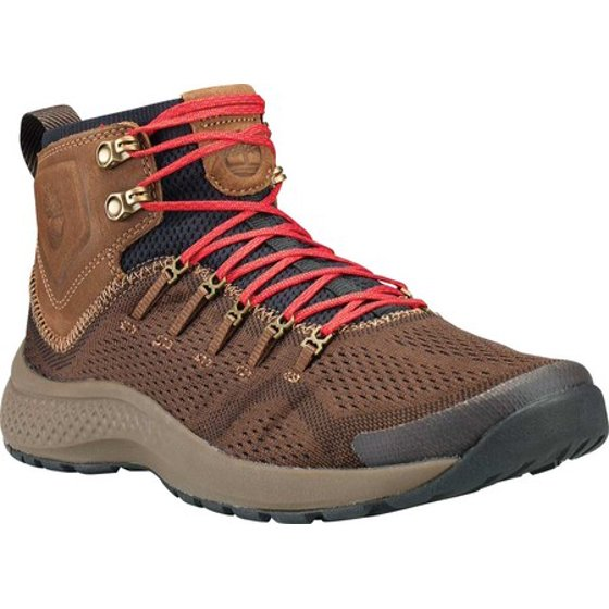 b3c60e4c0c2 Men's Timberland FlyRoam Trail Mid Fabric Ankle Boot