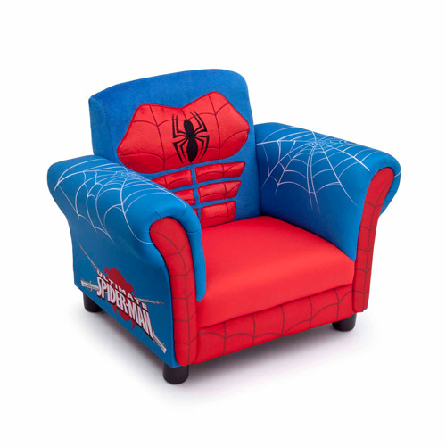 Delta Children's Products Spider-Man Figural Chair