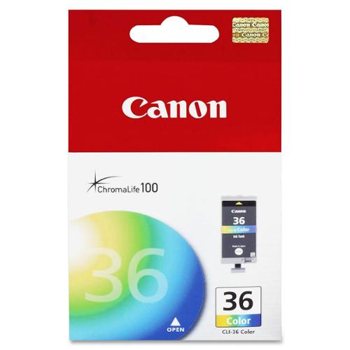 Canon Ink Catridge, Cli-36, Color Tank For - 1511B002