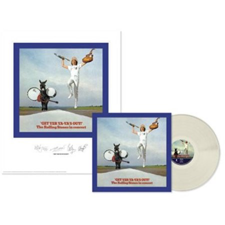 Rolling Stones: Get Yer Ya-ya's Out (Lithograph) (Clear Vinyl)