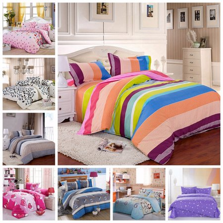 All Size Duvet Cover with Pillow Case Quilt Cover Bedding Set Single Double King - image 3 of 3