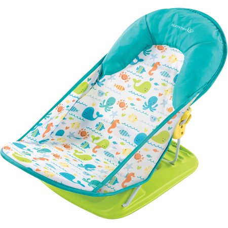 Summer Infant Deluxe Baby Bather Whalin Around Walmart Com