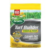 Scotts Turf Builder Weed & Feed 3, Covers up to 5,000 sq. ft.